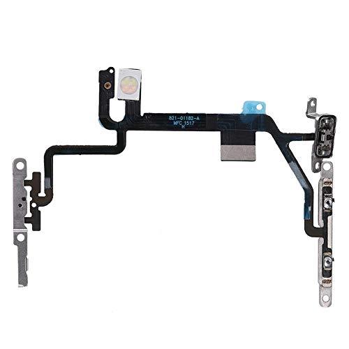 ASHATA USB-flexkabel - aan/uit-schakelaar - volumeknoppen voor iPhone 8