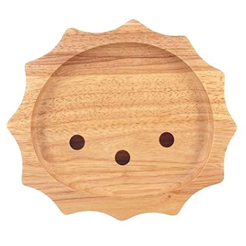 [ラトルウッド]RattleWood キッズプレート ライオン 木製食器 【24cm×21cm】 ワンプレート 子供用 お皿 洋食器 和食器 カフェ アウトドア BBQ おしゃれ かわいい 北欧 ナチュラル ラッピング無料 ギフト 贈答品