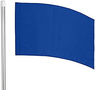 Director's Showcase 6' Flag Pole and Color Guard Flag Package (Blue)