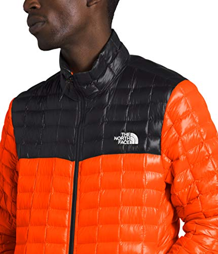 The North Face Men's Thermoball Eco Insulated Jacket - Fall or Winter Coat, Persian Orange, S