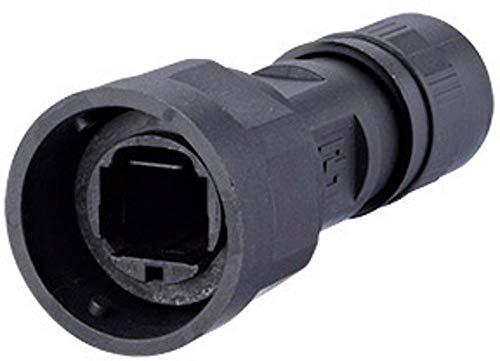METZ CONNECT Industry IP67 V1 Tüllengehäuse Schwarz 1401015002KE 1St.