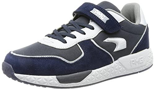 PRIMIGI Jungen Pme 74534 Sneaker, Navy Grig Sc, 36 EU