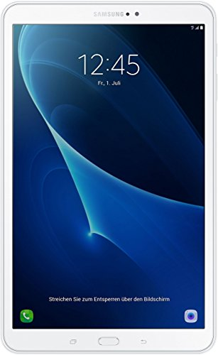 Samsung Galaxy Tab A T585 25,54 cm (10,1 Zoll) Tablet-PC (1,6 GHz Octa-Core, 2GB RAM, 32GB eMMC, LTE, Android 6.0) weiß