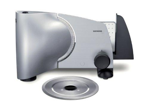 Siemens MS65500 - Máquina cortafiambres (110 W), color plateado