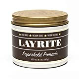 Layrite Superhold Pomade (High Hold, Medium Shine, Water Sol