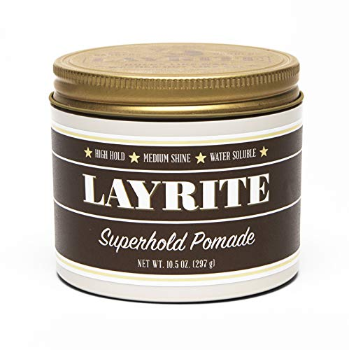 Layrite Superhold Pomade (High Hold, Medium Shine, Water Sol