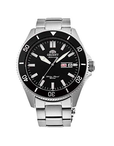 Orient Reloj Analógico para Hombre de Automático con Correa en Acero Inoxidable RA-AA0008B19B