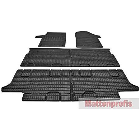 Mattenprofis Gummimatten Gummifußmatten Komplettauslage Für Mercedes V Klasse W447 Ab Bj 2014 Auto