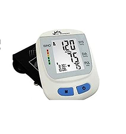 Dr. Morepen BP One BP09 Fully Automatic Blood Pressure Monitor (White )