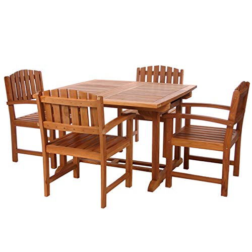 All Things Cedar TD72-20 Teak Butterfly Set