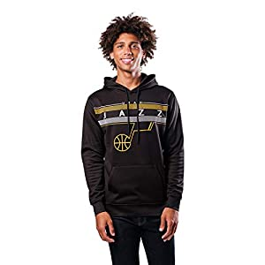 ULTRA GAME NBA APPAREL: Officially Licensed by The NBA (National Basketball Association), Ultra Game NBA features innovative designs with forward thinking graphics and textures COMFORTABLE FIT: Our midtown fleece hoodie pullover sweatshirt features a...