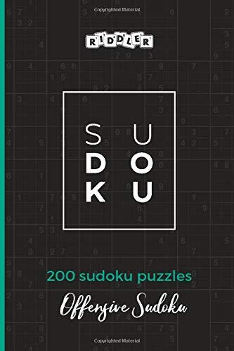 Sudoku Puzzles Offensive Sudoku