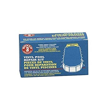 Boxer Adhesives Vinyl Pool Repair Kit Size  4 Oz