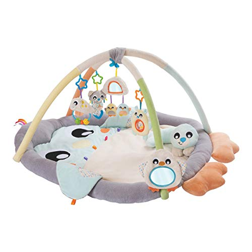 Playgro Speelkleed Babygym Penquïn met buikligkussen
