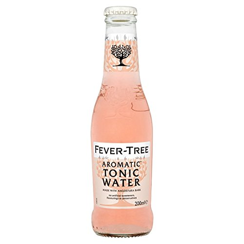 Fever-Tree Aromatic Tonic Water 200ml (Packung mit 24 x 200 ml)