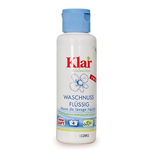 Ökologisches Waschmittel Waschnuss flüssig (KLAR) 125 ml