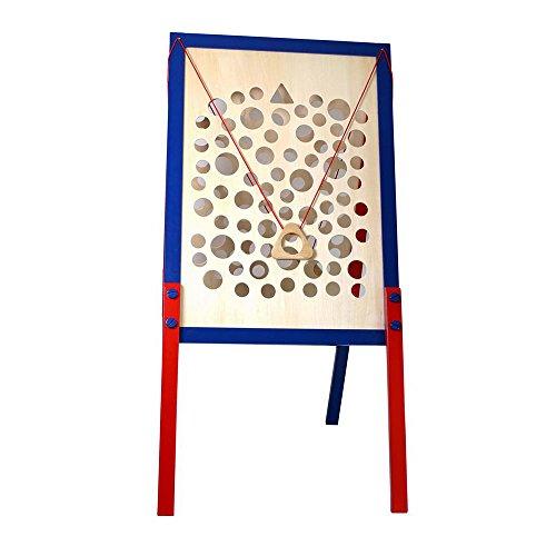 small foot 5171 Kletterpfad XXL aus Holz, Ideal für Kindergeburtstage, klappbar und kinderleicht aufzubauen, ab 3 Jahren Spielzeug