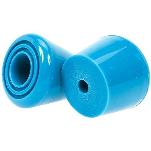 Rookie Toestop (2 PK + Nut) All Star Rad Unisex Erwachsene Einheitsgröße one Size blau