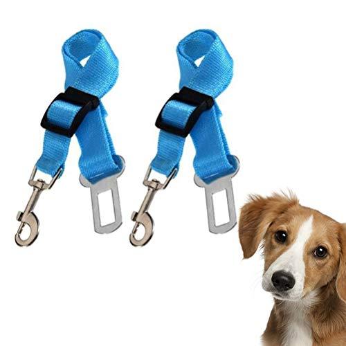 buycheapDG(JP) シートベルト ペット 犬 車専用リード 安全ベルト 長さ48-74cm調整可 装着簡単 飛び出し防止 ペット用 犬 猫 ドライブベルト 2セット