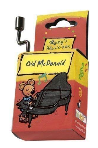 Fridolin 59028 Spieluhr Old McDonald / Rizzy's Music-Box