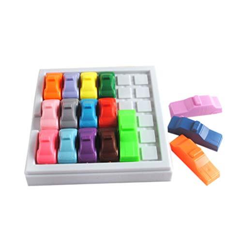 FIRMON Pädagogische interaktive Busy Hour Puzzle-Spiel Spaß Rush Hour Traffic Jam Logic Spiel Spielzeug für Jungen Mädchen 3-10 Jahre Kinder Kids Pädagogisches Spielzeug Toys Lernspielzeug Sudoku