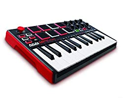 Akai Professional MPK Mini MK II MIDI Keyboard Controller - Best Mini Midi Keyboards