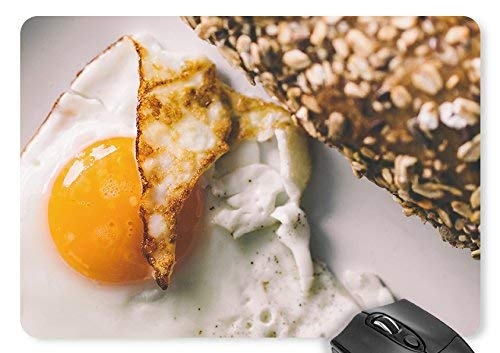N\A Tappetino per Mouse Omelette con Tappetino per Mouse
