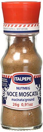 Italpepe - Noce Moscata Macinata - 12 pezzi da 27 g [324 g]