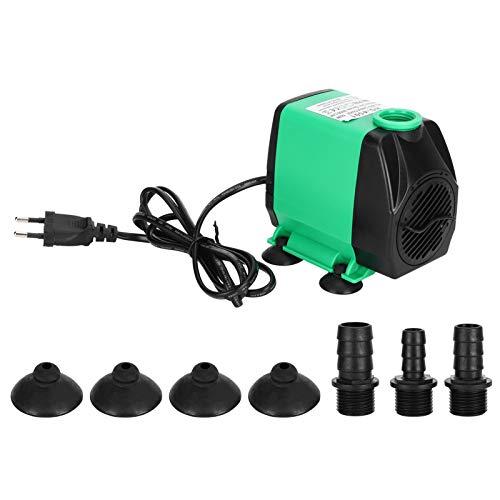 Atyhao Bomba Sumergible para acuarios, Bomba Sumergible HY-4501 Filtro silencioso Sumergible para acuarios Bomba de Agua de oxígeno para Tanque de Peces Bomba de Agua Ultra silenciosa Verde