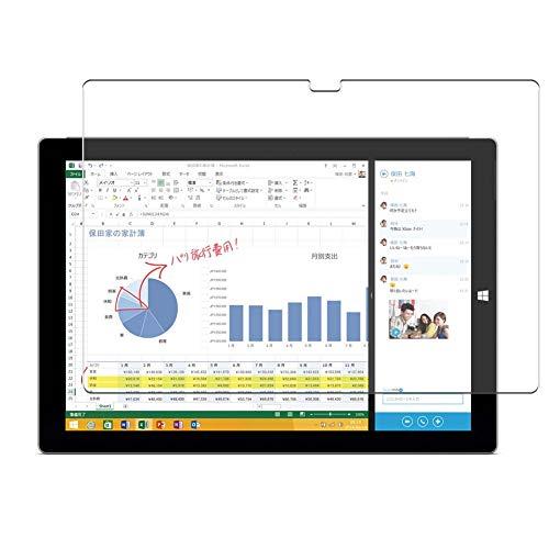 Vaxson 4 Unidades Protector de Pantalla, compatible con Microsoft Surface Pro 3 12' PRO3 [No Vidrio Templado Carcasa Case ] Película Protectora Film Guard
