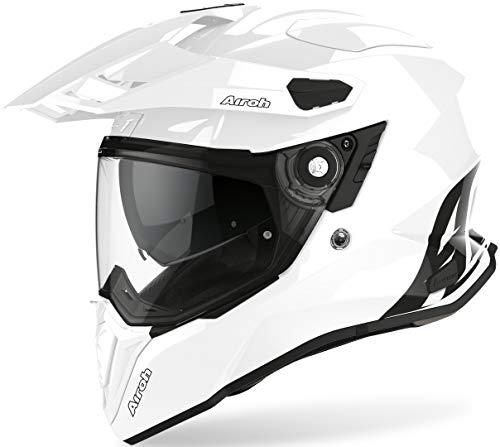 Airoh Commander Cascos, Adultos Unisex, Color White Gloss, XL