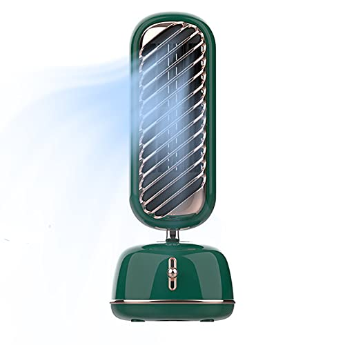 Condizionatore d'aria portatile, velocità del vento a 3 velocità che agita la testa della testa di alimentazione dell'aria umidificazione dell umidificazione dell um green-Shaking head