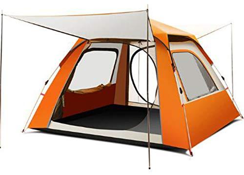 ADGN Explorer la Pleine Automatique Tente extérieure 4 Personnes Épaississement Camping Sauvage antipluie Unique Camping,A