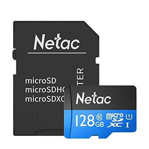 Cartão Memória MicroSD/Micro SDXC 128GB 80MBs Netac cADPT