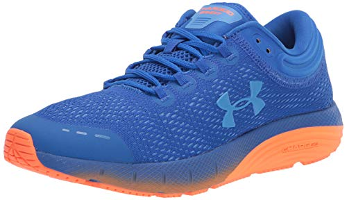 Under Armour UA Charged Bandit 5, Zapatillas para Correr, Calzado Deportivo para Hombre, Azul (Versa Blue/Orange Spark/Water (404) 404), 44 EU