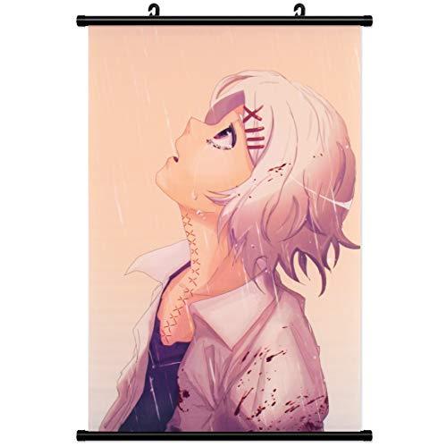 Kakemono - Striscione da parete per Tokyo Ghoul Wallscroll in tessuto poster Juuzou Huaya, Juzo Anime