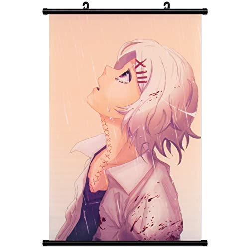 Kakemono Wandbanner für Tokyo Ghoul Wallscroll Rollbild Wandbild Stoff Poster Juuzou Suzuya Juzo Anime