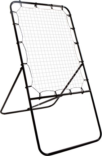 Trademark Innovations 4' Lacrosse Bounce Back Rebounder Pitch Back Ball Return Training Screen