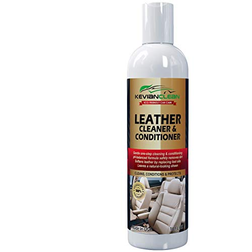 Leather Cleaner & Conditioner - Best Treatment For Automotive...