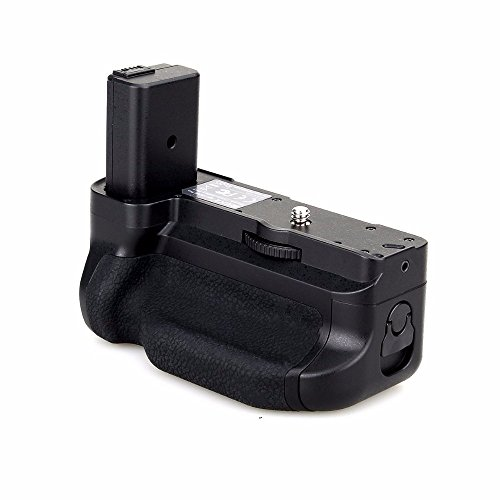 Meike MK-A6300 - Supporto per batteria per fotocamera Sony Alpha A6300, A6000, funziona con batteria NP-FW50 per sostituire Sony A6300, A6400, A6000