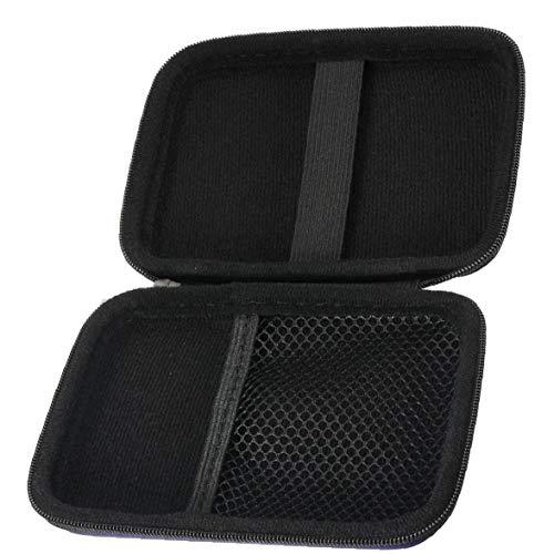 FEDSJUIHYG Hard Drive Bag Externe Tasche Anti-Staub-HDD 2.5 Zoll Protable Eva Nylon, Rosa, Rot-Kasten Für Hard Drive