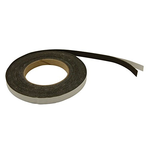 JVCC ACF-06 Acrylic Craft Felt Tape: 1 in x 300 in. (Dark Brown)