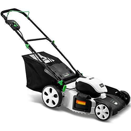 BCGJ High-Power-Rasenmäher, Verbesserte Chassis Design, professionelle Grass Outlet Entwurf ist vorteilhaft for Gras, hohe Gras Sammlung Effizienz, geeignet for jede Jäten-Site,hohe Effizienz