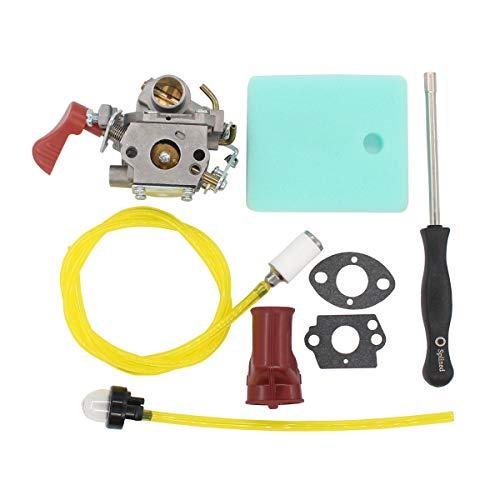 MOTOKU Carburetor Boot Air Filter Carb Adjustment Tool for Poulan Pro PP338PT PP133 PP333 Weedeater Gas Line 33cc Trimmer Craftsman 545189502 545008042