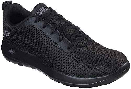 Skechers 54601, Men's Low-Top Trainers, Black (Black), 8.5 UK (43 EU)