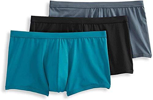 Jockey Life 3-Pack Men's Fresh Microfiber Stretch Trunks - Assorted Solids (XL)