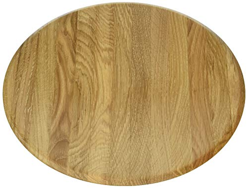 Continenta Oak Wood 4132Eiche Holz Schale, Licht Braun, hellbraun