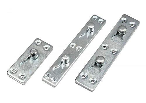 Möbelverbinder Steckverbinder Bettverbinder Verbinder Metallverbinder 9-03 Größe 26x123mm