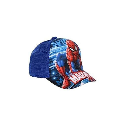 Spiderman Marvel Jungen Cap Mesh Gr. 54 cm , blau