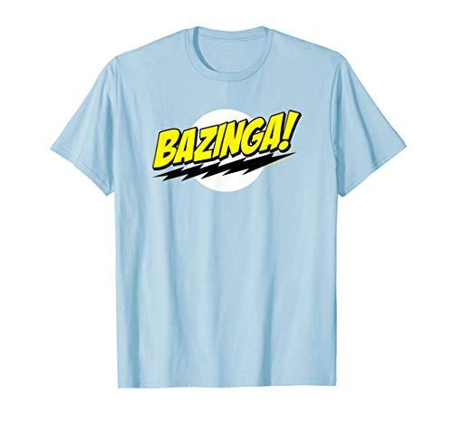 The Big Bang Theory Sheldon Bazinga T-Shirt